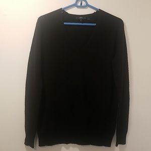 Black Theory V Neck Cashmere Sweater